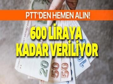 PTT'den Bir Yıl Boyunca Başvuran Herkese Aylık 600 TL Ödeme